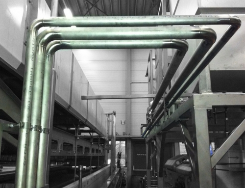Steam piping system